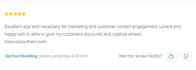 MailChimp app for Shopify 3