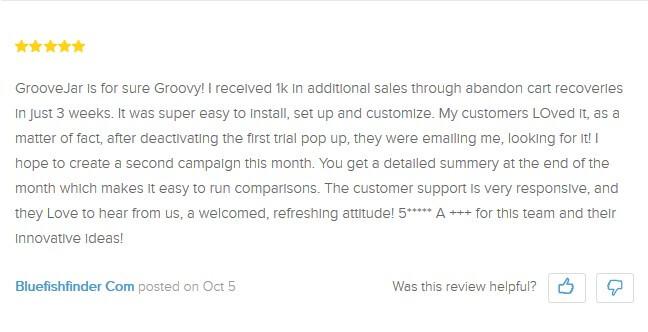 best GrooveJar shopify apps