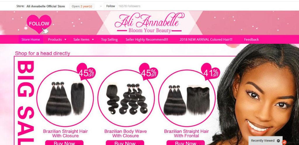 Ali Annabelle Store - Best Aliexpress Hair Vendors