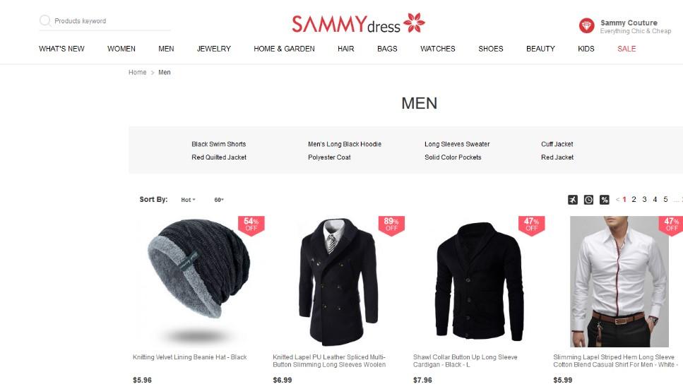 Sammy Dress - Aliexpress Alternatives for Clothing