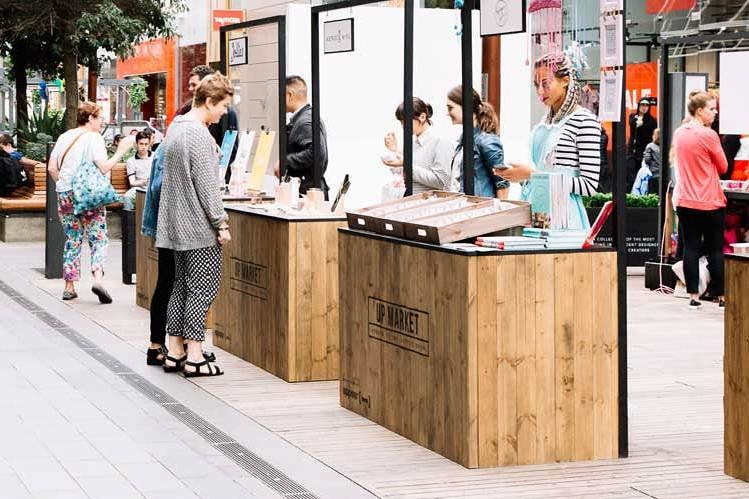 Market Your Products via Pop-up store