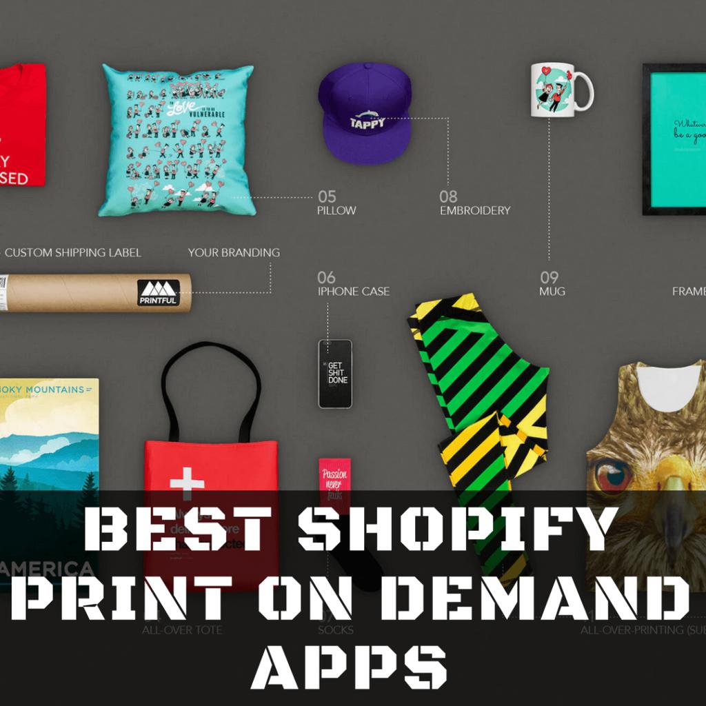 best shopify print on demand app