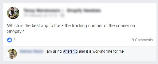 our AfterShip review