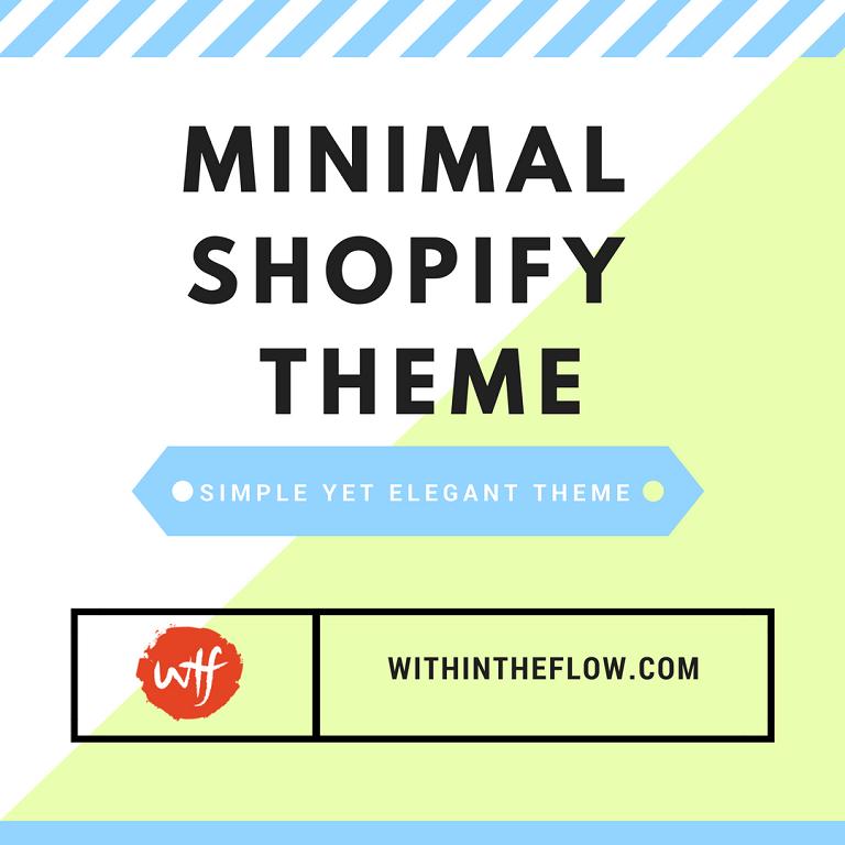 minimal shopify theme simple yet elegant theme for shopify
