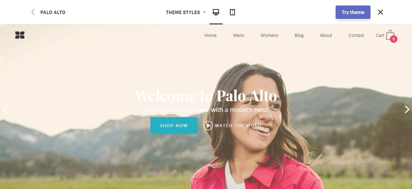 Palo Alto Shopify Theme