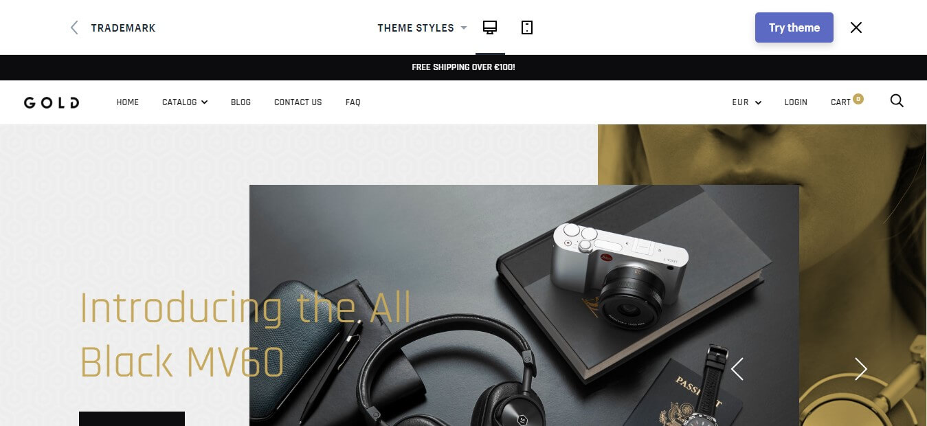 Trademark Shopify Theme