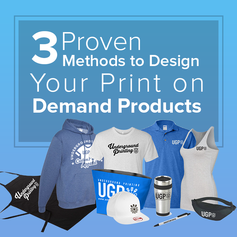 3 Proven Methods to Design Your Print on Demand Products