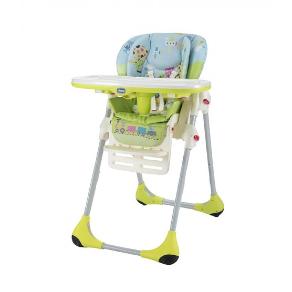 silla alta de bebé