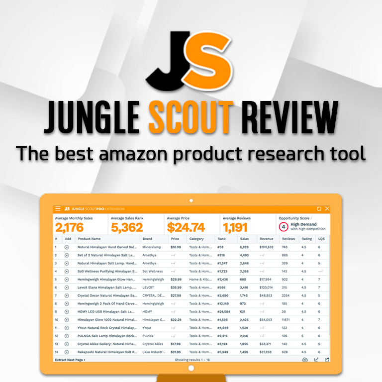 jungle scout firefox extension